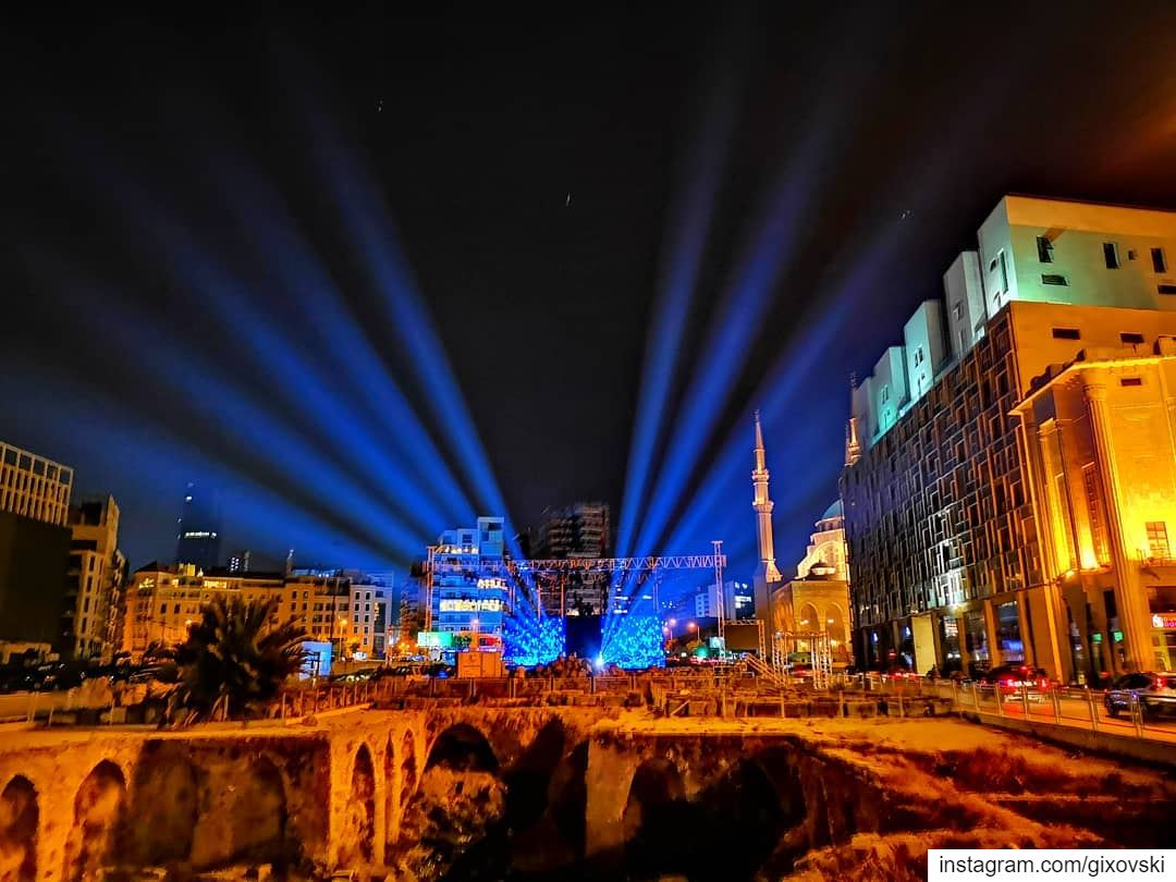 I was actually lost in Beirut on the way home..... beirut beyrouth ... (Downtown Beirut)