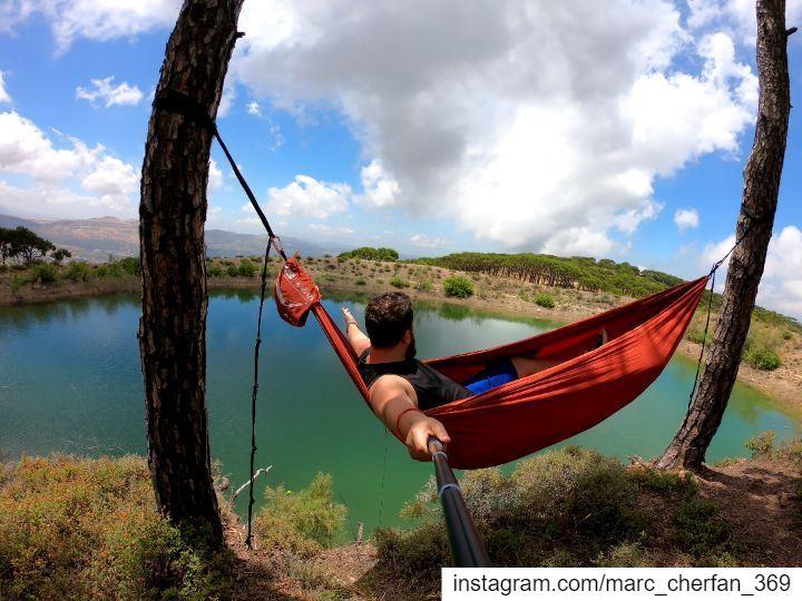 BeautifulDay By The Lake 😎 Relax EnjoyNature EnjoyLife NatureLovers... (Falougha, Mont-Liban, Lebanon)