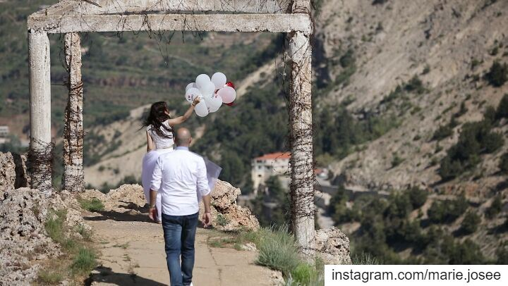 The best is yet to come ❤ SaveTheDate EliasMj.. weddingphotography ... (Cedars of God)