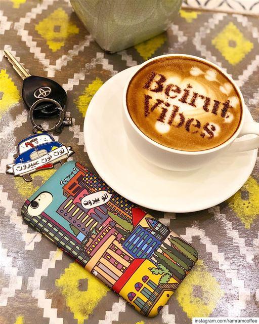 الو بيروت .. من فضلك يا عيني 💜☕️... ramramcoffee turkishcoffee ... (Home Sweet Home, Mar)