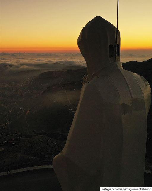 لبنان شو بحبّك 💙🇱🇧 (Saint Charbel-Faraya)