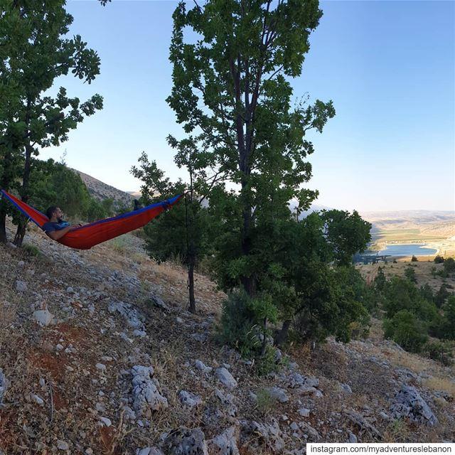Chilling goals 🌴〰️🌴🏞 myadventureslebanon mountaineering ... (Yammoune)