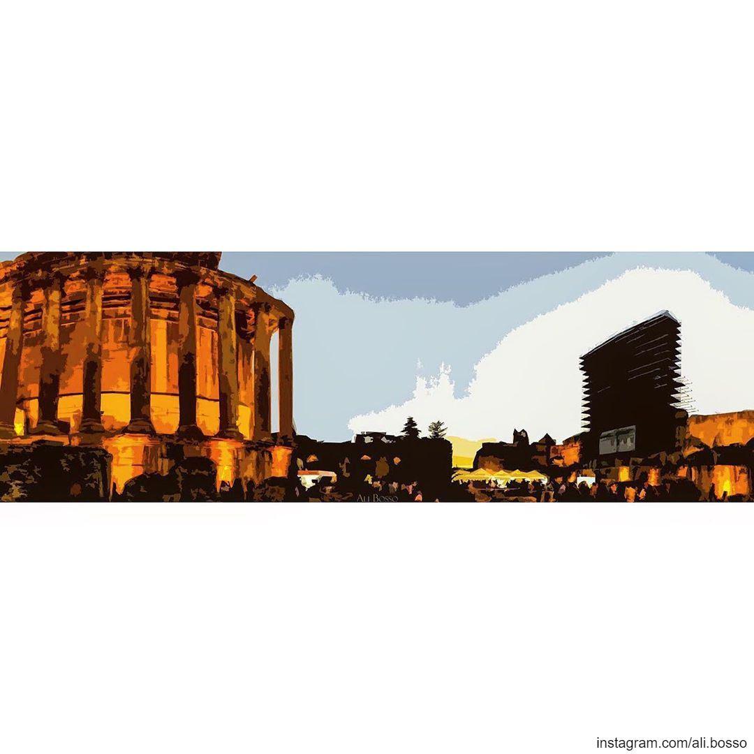 🏛🇱🇧🇱🇧🇱🇧 lebanon lebanontimes lebanonspotlights lebanese ... (Temple of Bacchus)