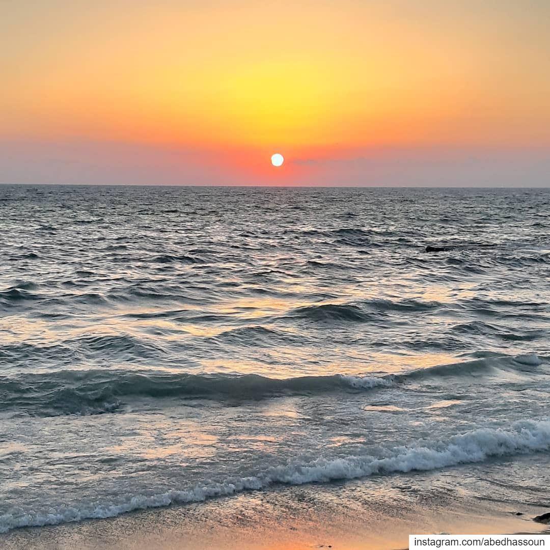 Today's sunset 🌅...................... wow ... (Tripoli, Lebanon)