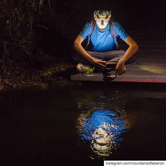 We found Narcissus contemplating his reflection in a water tank (on the... (Mseilha Fort)