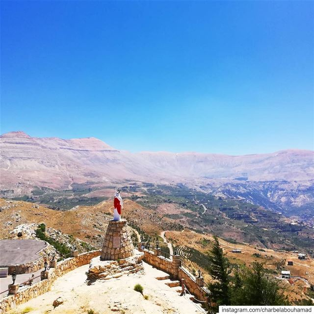 مار الياس القوة الإرادة الإيمان lebanon  livelovelebanon  livelovebeirut ... (Saint Elias Mountains)