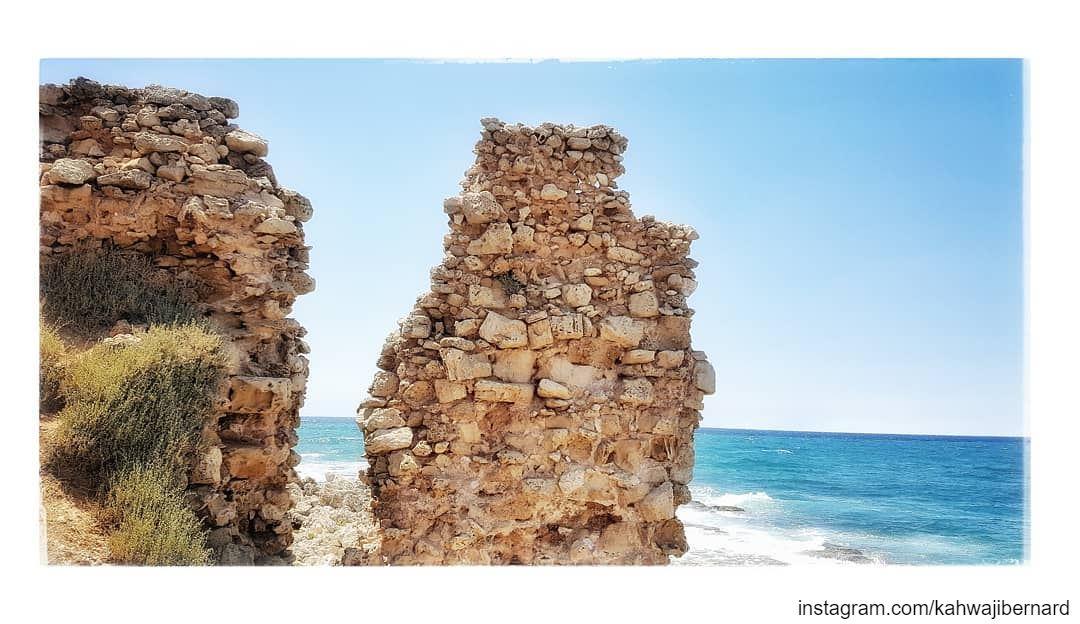 -the remains of an empire- lebanonoutdoors lebanoninstagram lebanon ... (Anfeh Al-Koura أنفه الكورة)