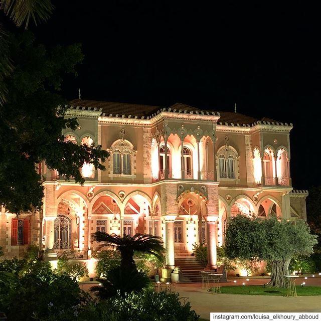 lebanon liban southlebanon bramieh saraynassibbasha lebanese palace... (Saray Nassib Basha)