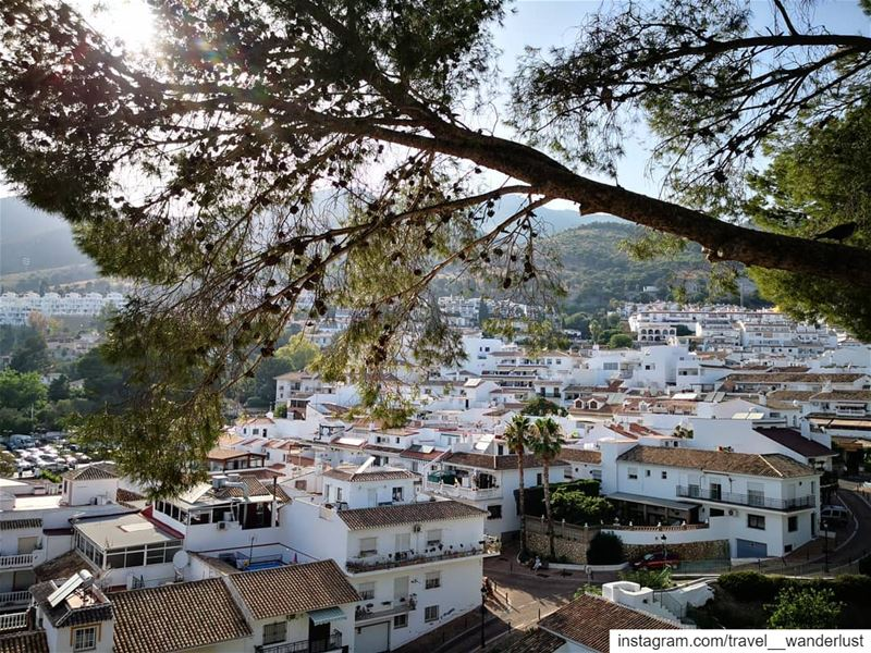 Each place has a special place❤️--- TakeMeTo  Costadelsol  spain ... (Benalmadena Pueblo)