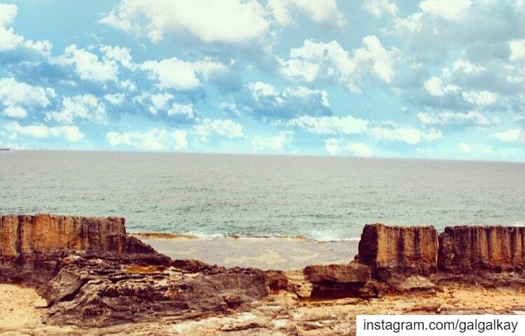 Story Telling: Your Culture: an ancient Phoenician sea wall that still... (Batroun, Lebanon)