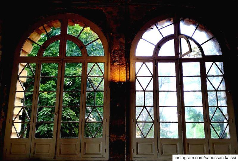 nostalgia old abandonned grandhotel beautiful lebanonhomes ... (Sawfar, Mont-Liban, Lebanon)