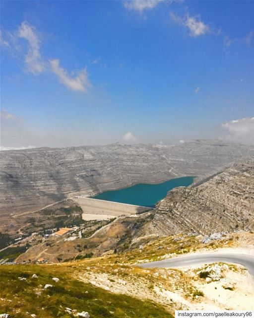Chabrouh dam is located on Wadi Chabrouh river in Faraya, about 40 km... (Faraya, Mont-Liban, Lebanon)