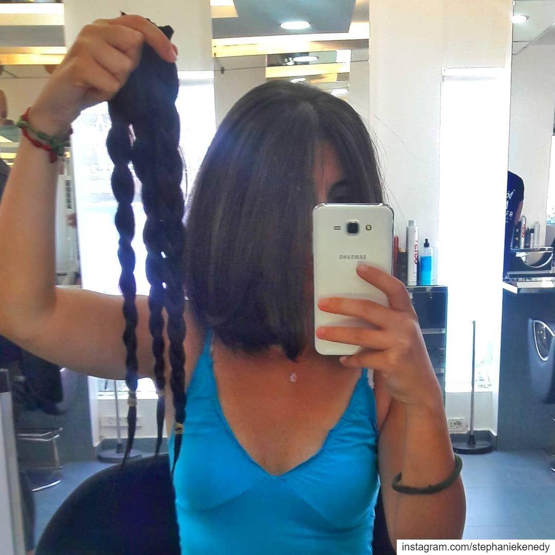 ✂✂✂ picoftheday haircut shorthair longhair donation childrencancer ...