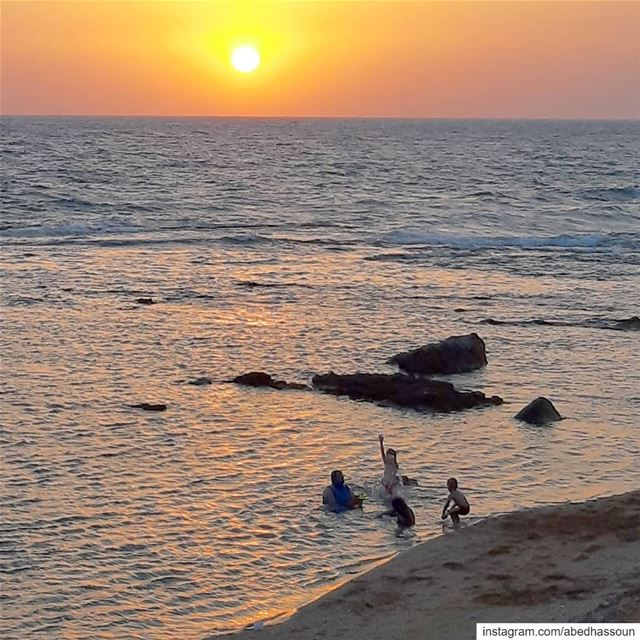Joy in the simplest things 🌅......................... (Tripoli, Lebanon)