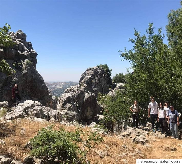 Sun and lots of Fun. JabalMoussa unesco unescomab livelovejabalmoussa... (Jabal Moussa Biosphere Reserve)