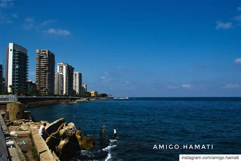 🇱🇧 The famous manara. uglybeirut beirut lebanon lebanontravler ... (Manara Beyrouth)