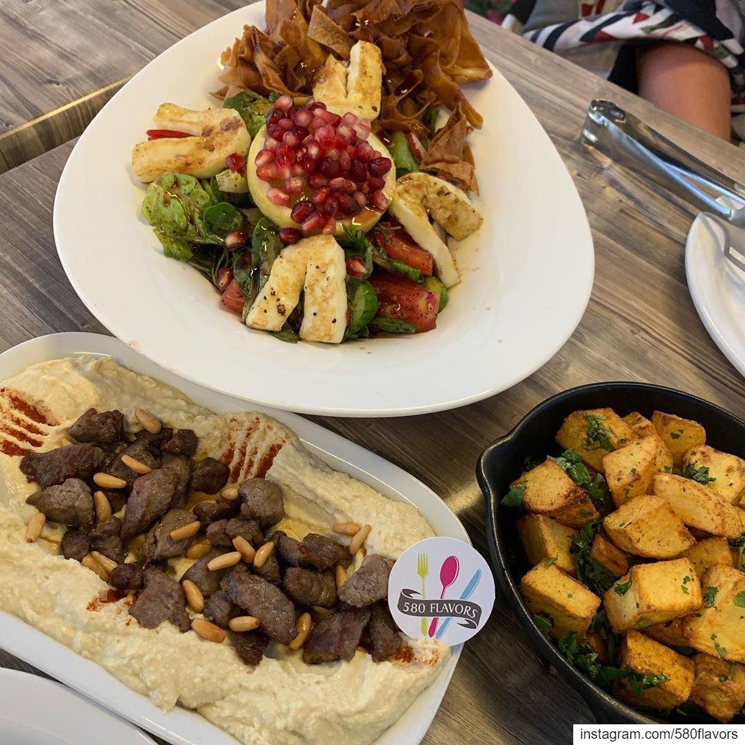 A perfect trio 👌👌 @babelhawa ehden ... 580flavors livelovefood ... (Bab El Hawa)
