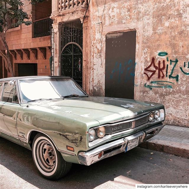 Parked in Beirut ✨ Beirut shotoniphone... (Beirut, Lebanon)
