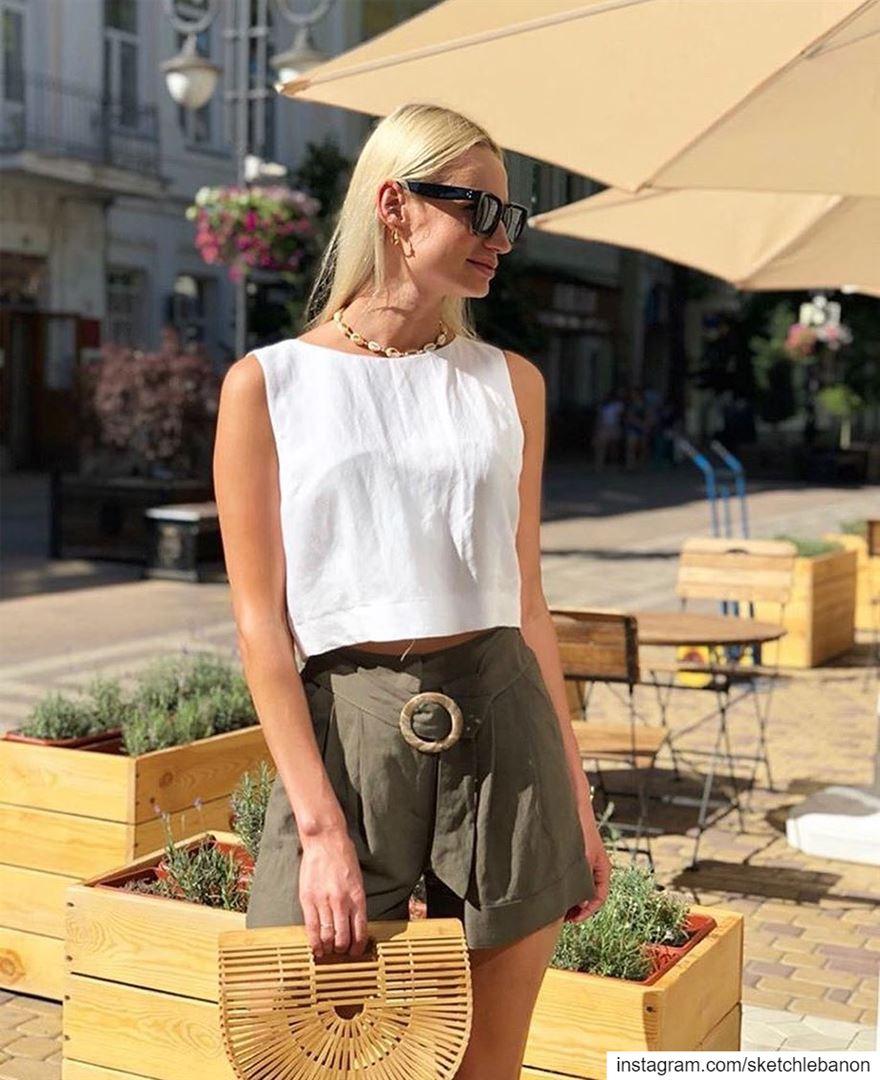 Shorts for hot weather days ☀️@sketchlebanon DailySketchLook 642... (El Mtaïleb, Mont-Liban, Lebanon)