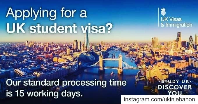 🇬🇧Applying for a UK student visa?🇱🇧 Our standard processing time is 15...