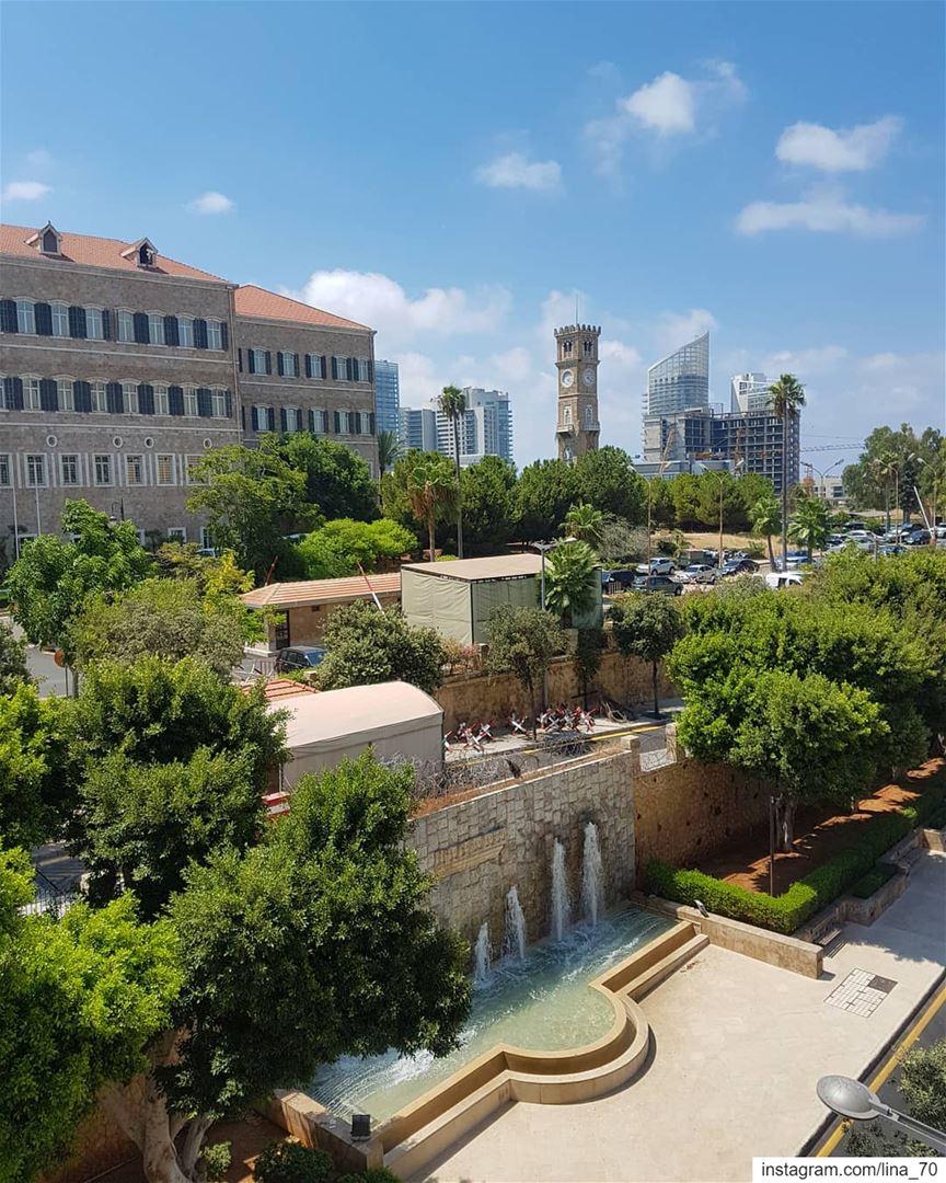 Good morning ig_respect ig_lebanon ptk_lebanon livelovelebanon🇱🇧❤️ ... (Grand Serail)