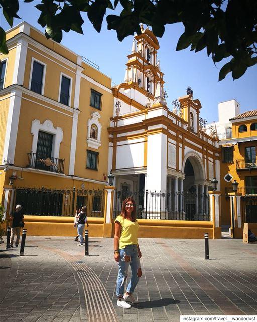 La macarena.--- TakeMeTo seville spain macarena lamacarena ... (Basilica De La Esperanza Macarena)