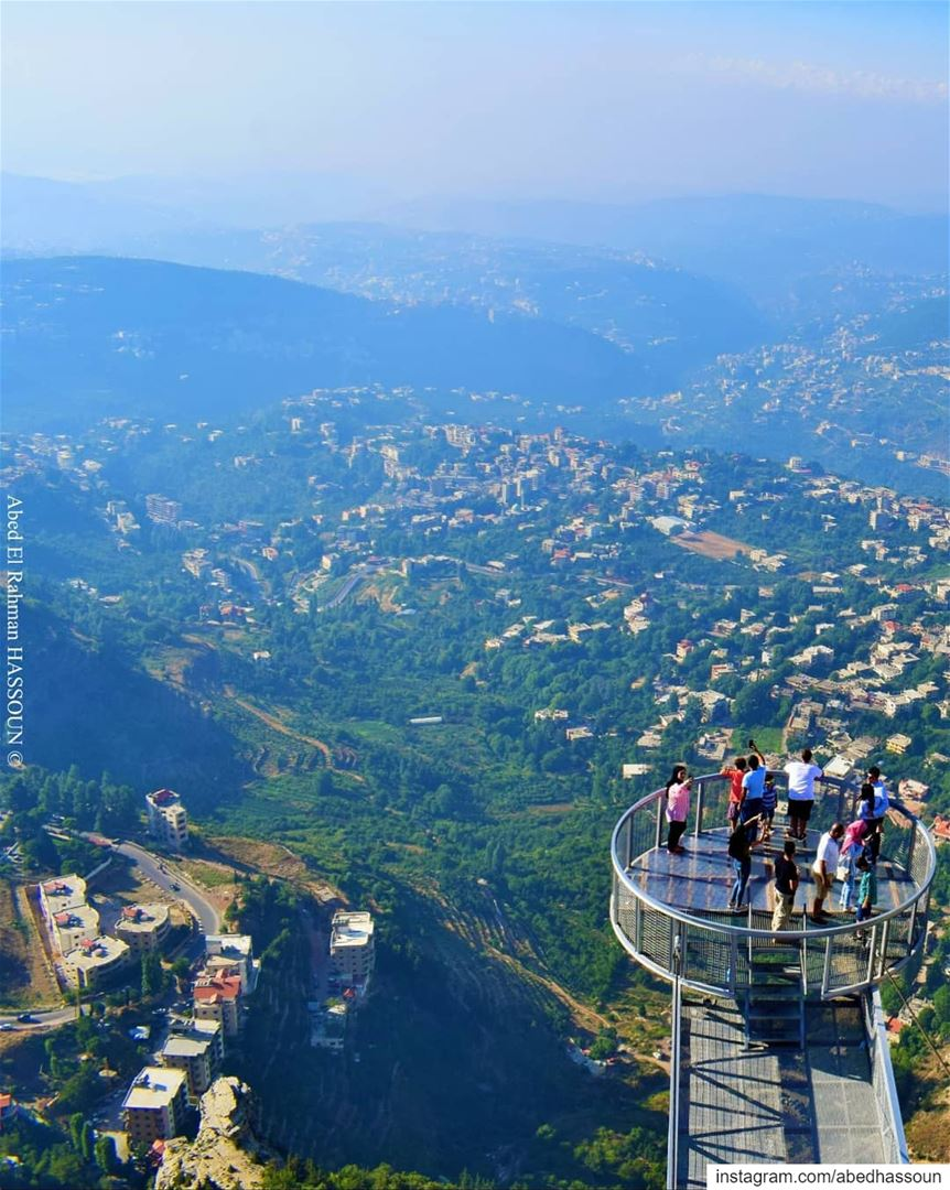Swipe to the right 👉🏻 to see the detailed view from the top of El Arbiin... (Bkaa Safreïn, Liban-Nord, Lebanon)