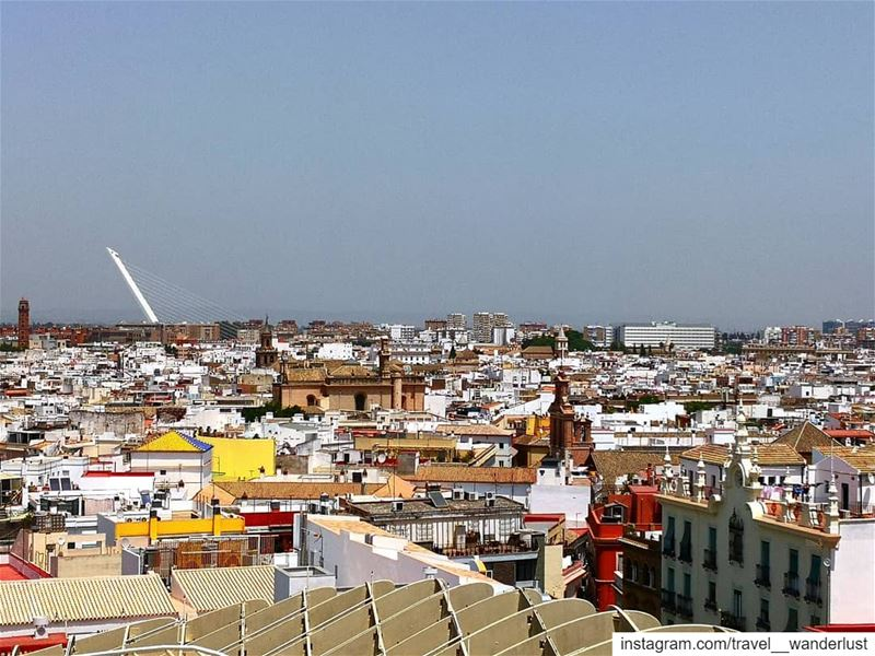 Seville 💛--- TakeMeTo Costadelsol spain mijas Passion Love ... (Setas De Sevilla)
