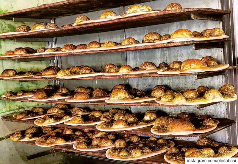 Yes or No? lebanon🇱🇧 lebanon jaleldib breakfast man2ouche zaatar ... (Jall Ed Dîb, Mont-Liban, Lebanon)