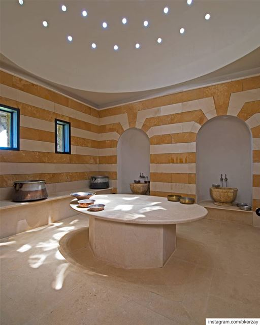Scrub your problems away in true Mediterranean fashion! bkerzay  hammam ... (Bkerzay)