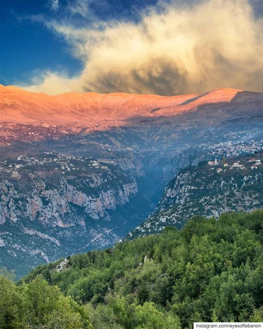 Good afternoon from Wadi QuannoubîneCredits to @alexander_photography97 ・・ (Ouâdi Qannoûbîne, Liban-Nord, Lebanon)