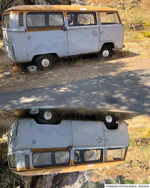 Home is here park it ........✨••••••••••••••••• vanlife ... (Feitroun, Mont-Liban, Lebanon)
