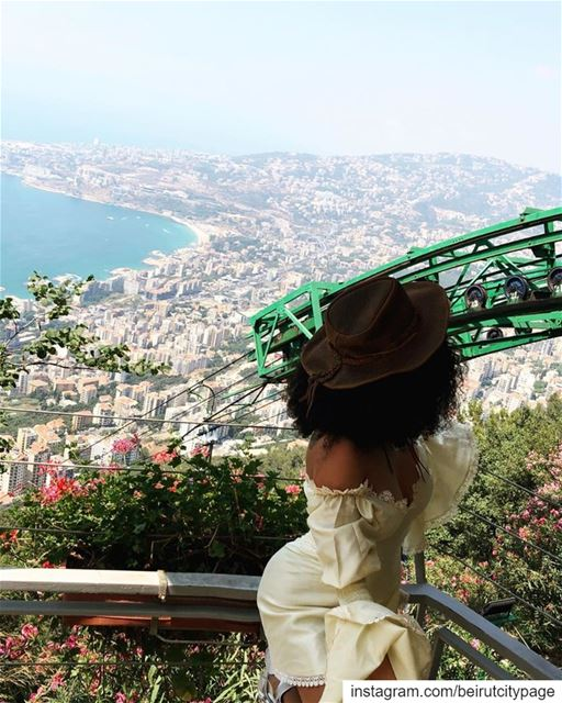 Jounieh from Harissa - جونية من حريصا Beirut Byblos lebanon liban ...