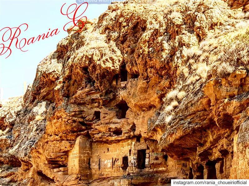 مغارة_مار_مارون في الهرمل... (El Hermel, Béqaa, Lebanon)