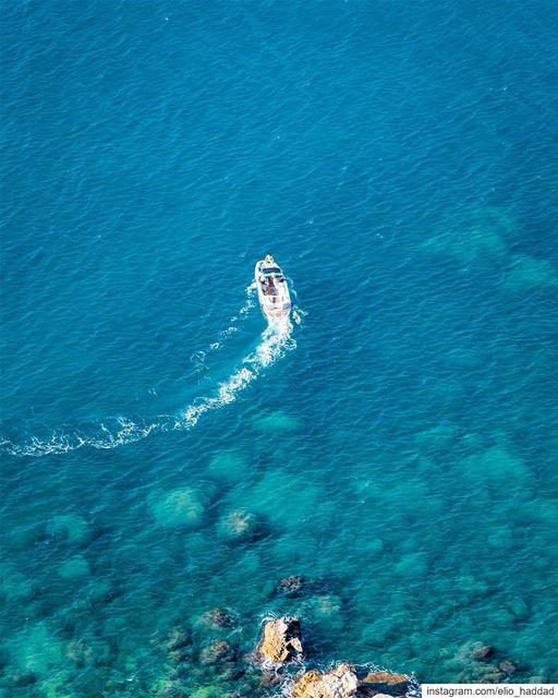 Morning ☀️🌊 Lebanon 🇱🇧 Sunday Summer Morning Sun Blue Sea Beach... (El Héri, Liban-Nord, Lebanon)