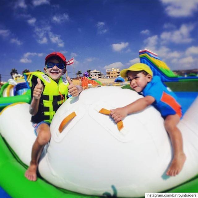 batroun waterpark family fun bebatrouni lebanon northlebanon ... (Batroun Water Park)