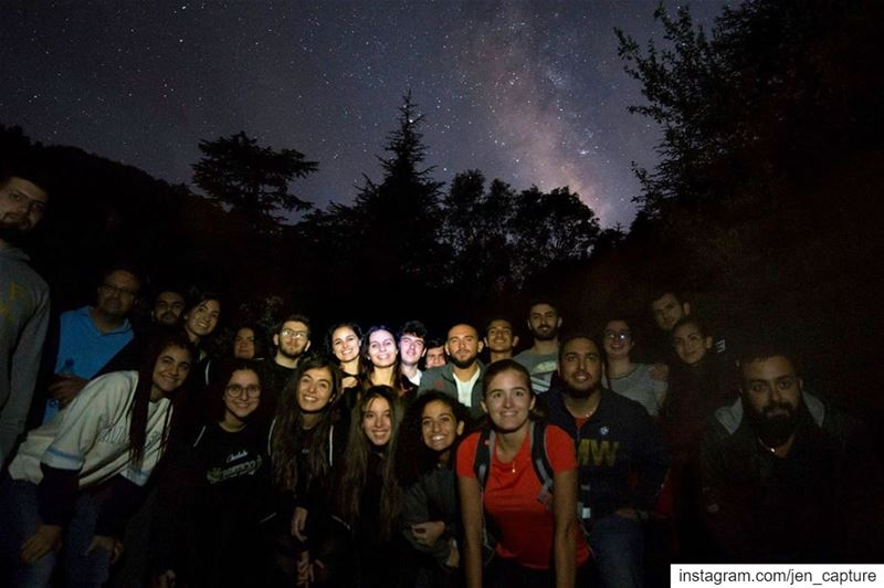 Unforgettable night at Horsh Ehden Nature Reserve.. Astronomy event... (Ehden, Lebanon)