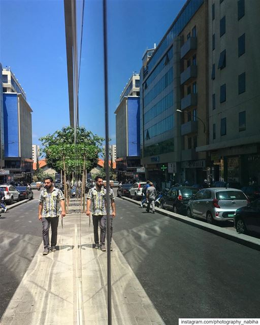 Which's s reflecting Which?  hamra  local  beirut  photography  Lebanon ... (American University of Beirut (AUB))