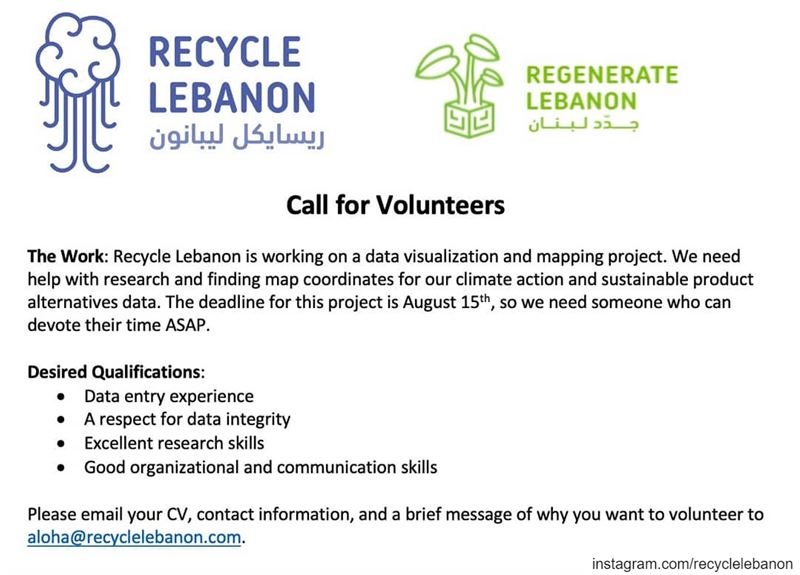 Step by step we continue building the RegenerateLebanon circulareconomy...