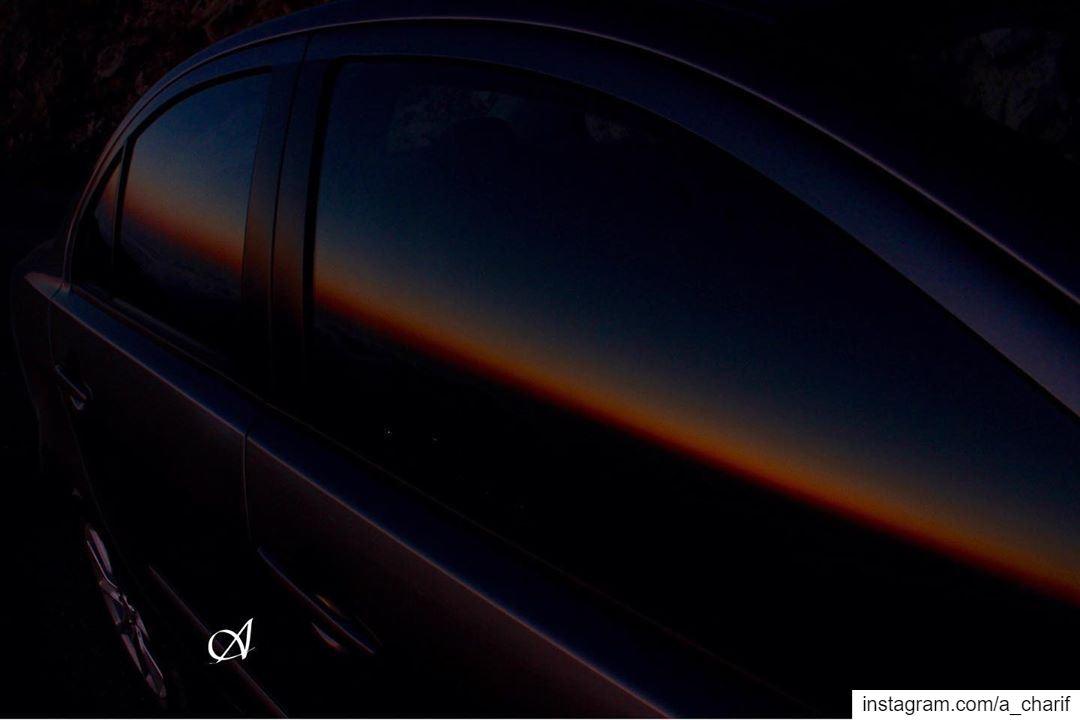 Just Reflection reflection reflections reflectionphotography sunset ... (Jazzin, Al Janub, Lebanon)