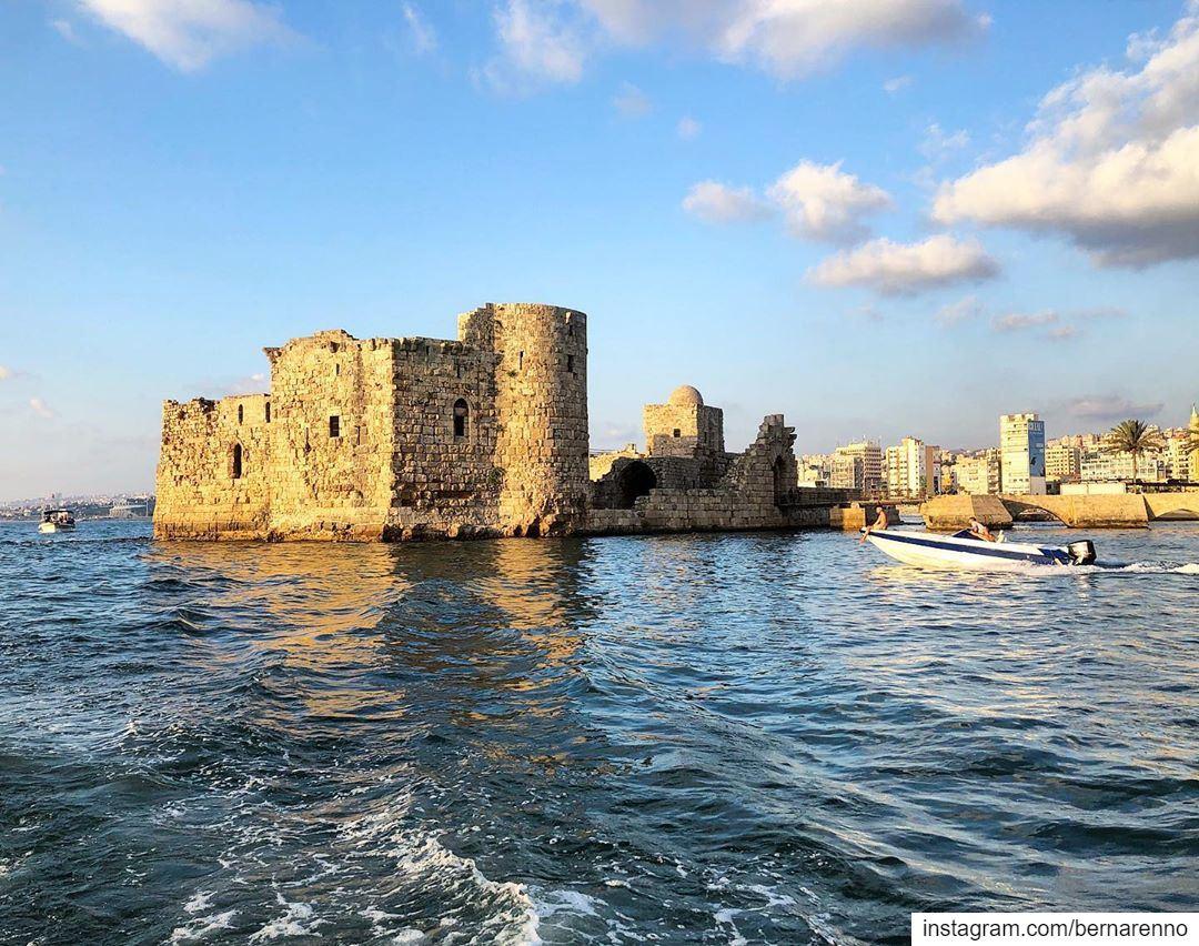 sidonseacastle sidon saida livelovesaida southoflebanon ... (Sidon Sea Castle)