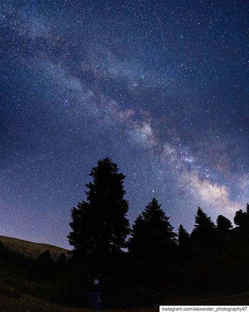 The core of the universe 🌌 - High in Akkar mountains, away from all light... (North Governorate)