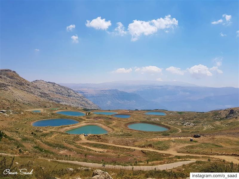 Akoura lake laqlouq mountlebanon valley panoramic water o_saad... (Akoura Laklouk)