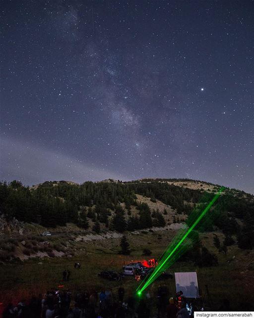 Les Nuit des Etoiles event in @shoufreserve @spacedlebanon @moophz @rita (Al Shouf Cedar Nature Reserve)