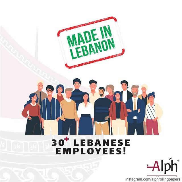 Helping the Lebanese industry grow with over 30 employees! alph ...