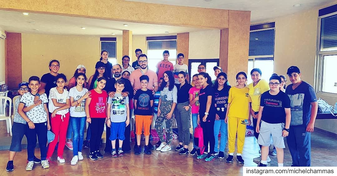 """""""Safety on Social Networks"""" workshops for 10 to 15 year old kids during... (Saydet El Nourieh)"""