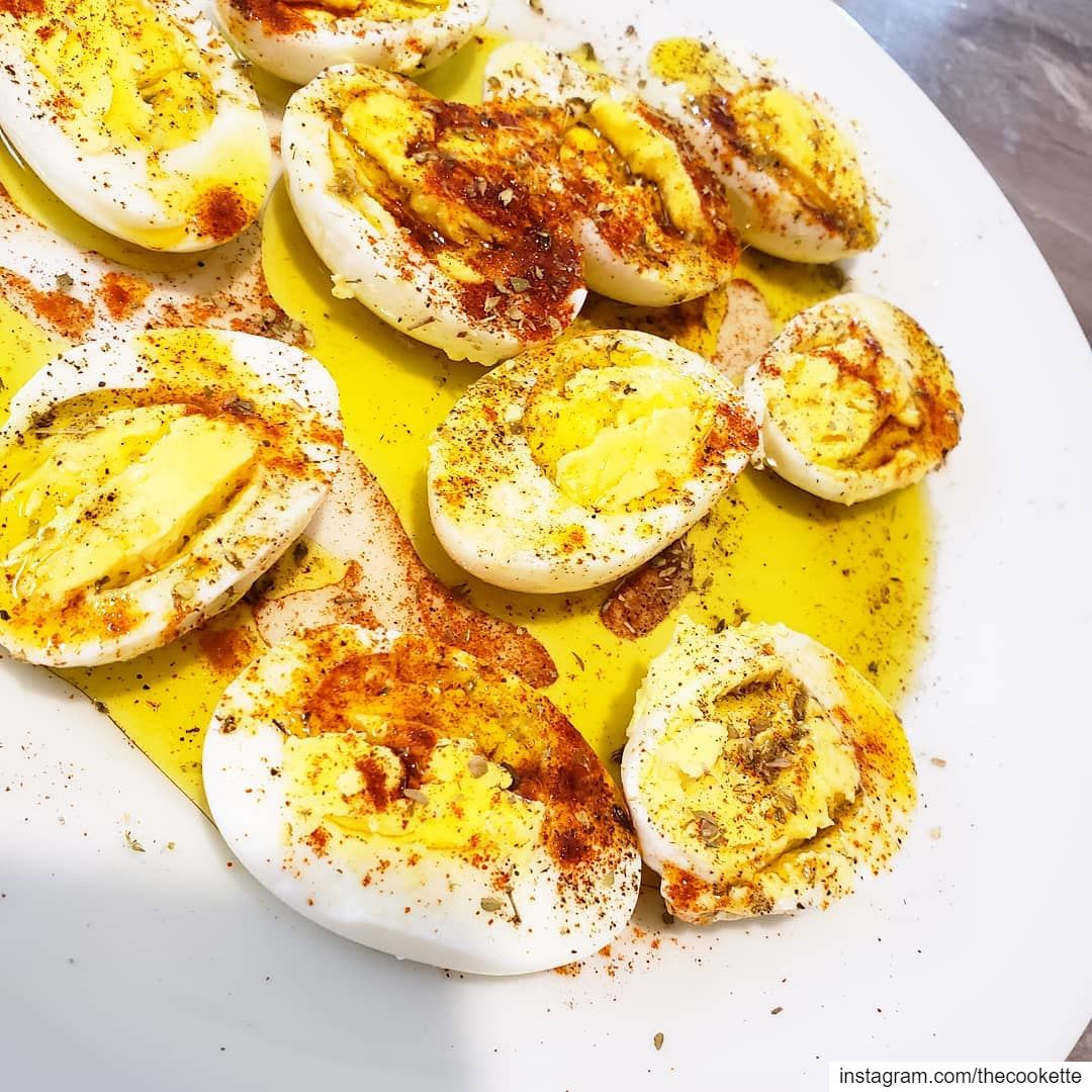 Elevate your boiled eggs by adding salt, black pepper, sweet paprika,... (Greater Montreal)