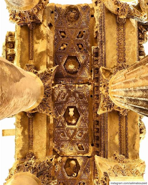 Baalbek's treasure 🧡💙--------------------------------------------------- (Baalbek , Roman Temple , Lebanon)