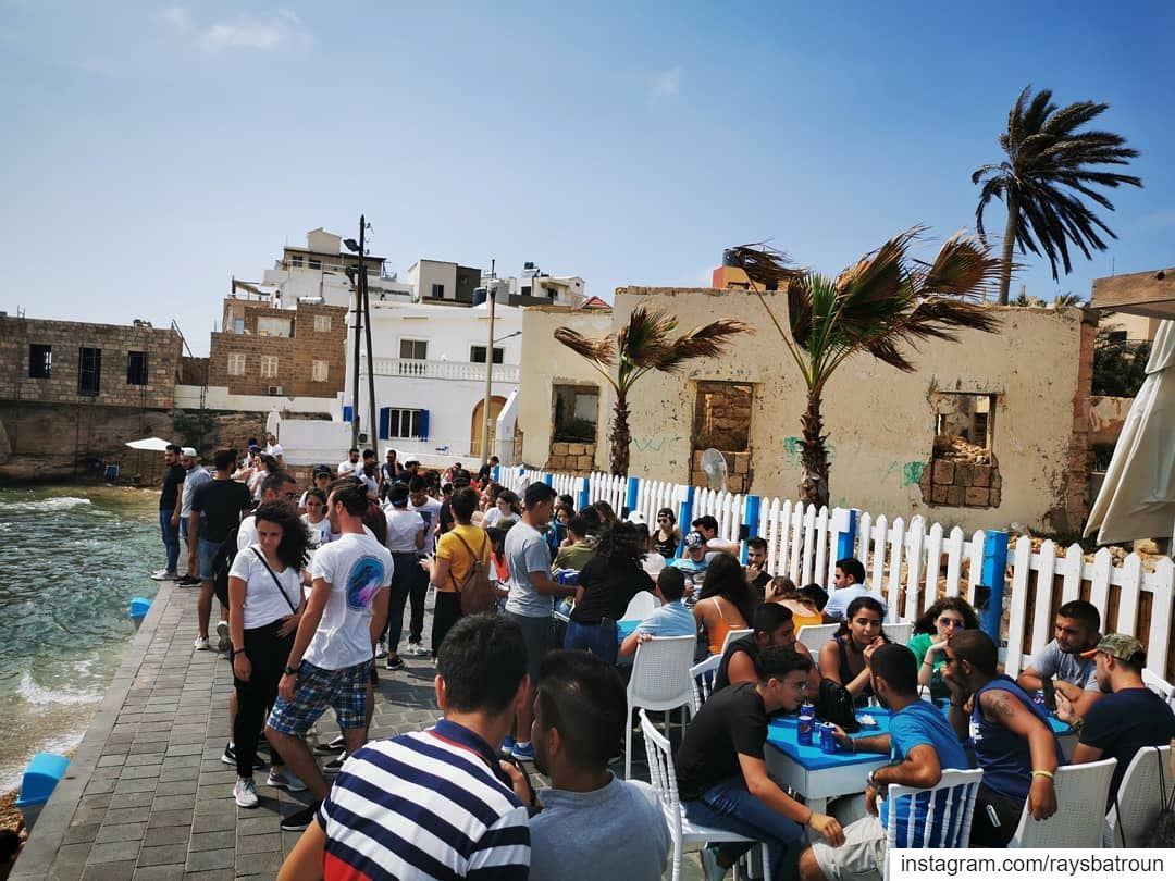 Sunday at RAY's lebanon batroun bahsa beach raysbatroun chilling ... (RAY's Batroun)