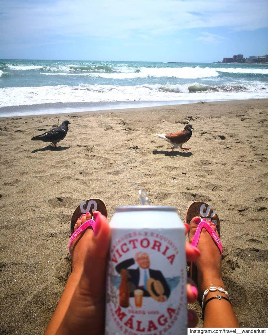 That simple.--- TakeMeTo benalmadina Costadelsol spain andalousie... (Playa Malapesquera)